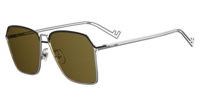 Τετράγωνα γυαλιά ηλίου με μεταλλικό σκελετό