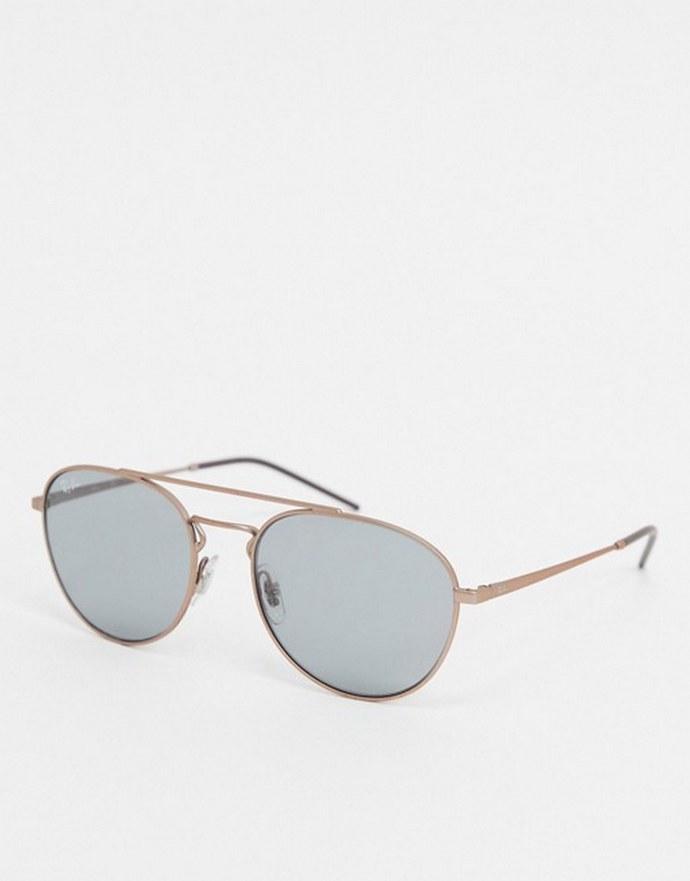 Στρογγυλά frames σε ροζ χρυσό