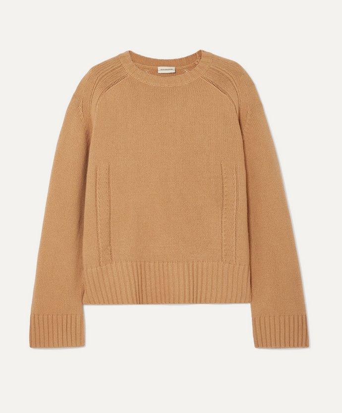 Πλεκτό μάλλινο πουλόβερ