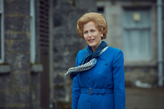 margaret thatcher the crown