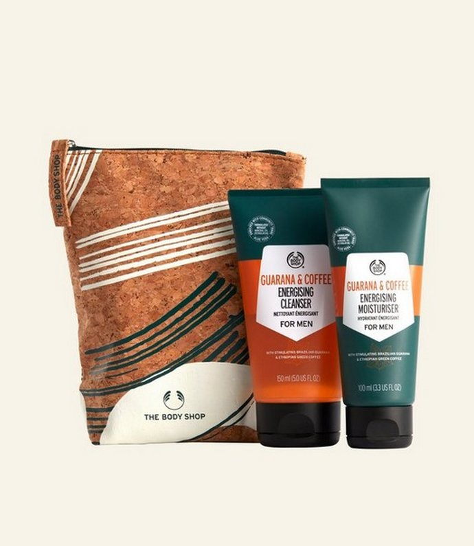 The Body Shop Gent's Energised Skincare Kit