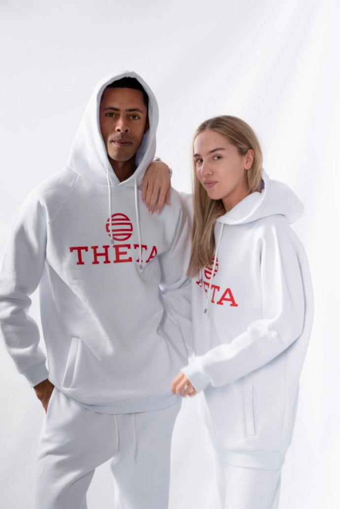 Βαμβακερό hoodie με λογότυπο