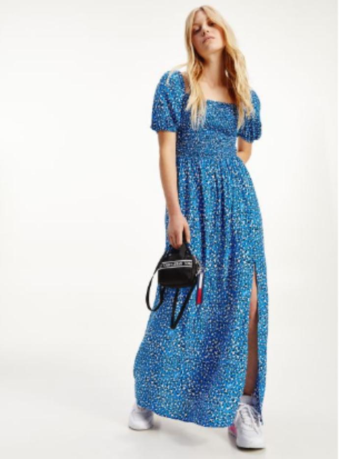 μάξι λεοπάρ φόρεμα