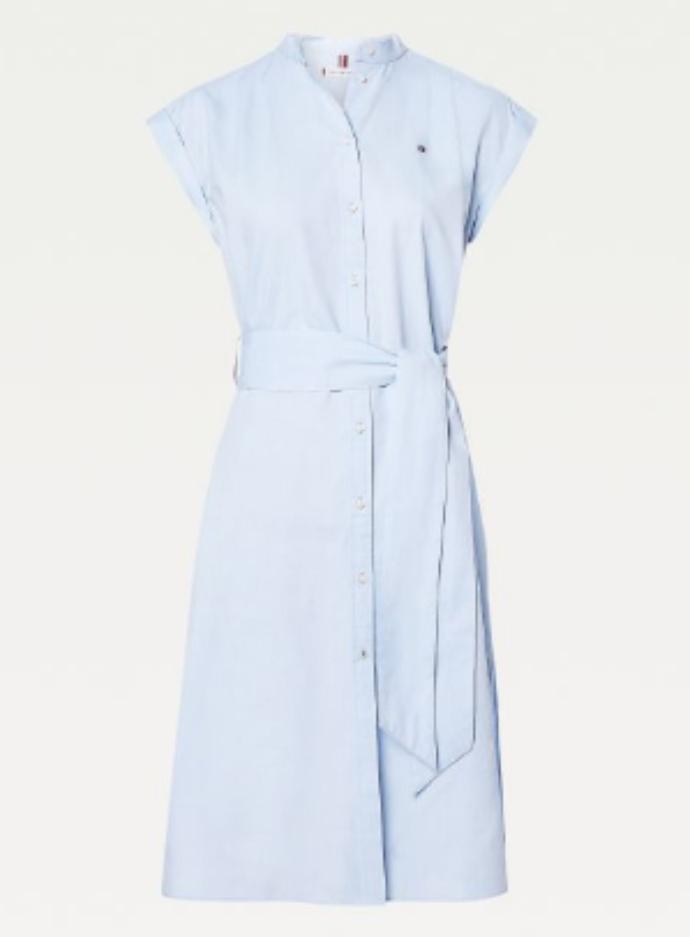φόρεμα-πουκαμίσα από βαμβάκι