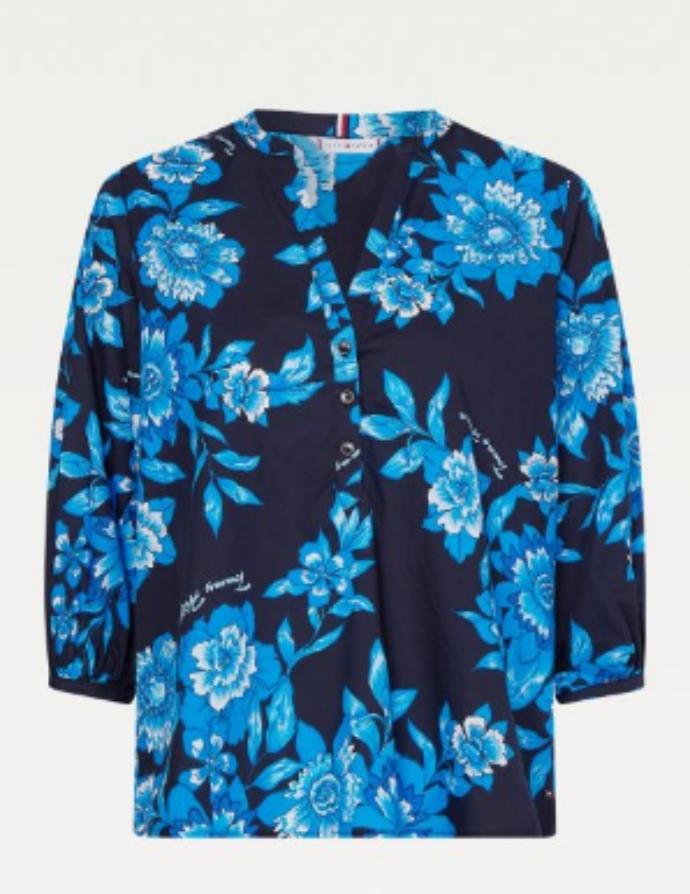 πουκάμισο με φλοράλ μοτίβο