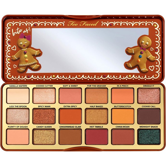 Too Faced Gingerbread Extra Spicy Παλέτα Σκιών