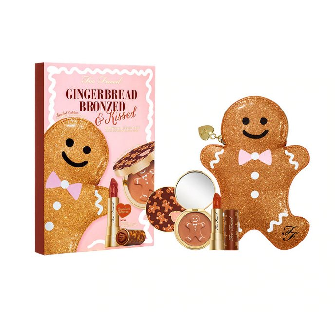 Too Faced Gingerbread Bronzed & Kissed Set