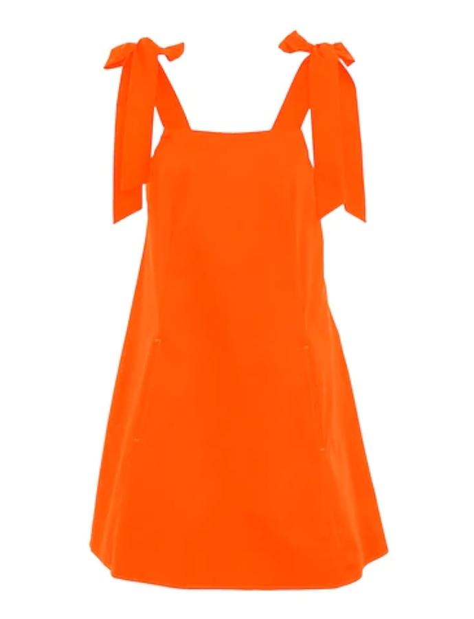 μίνι φόρεμα από ποπλίνα
