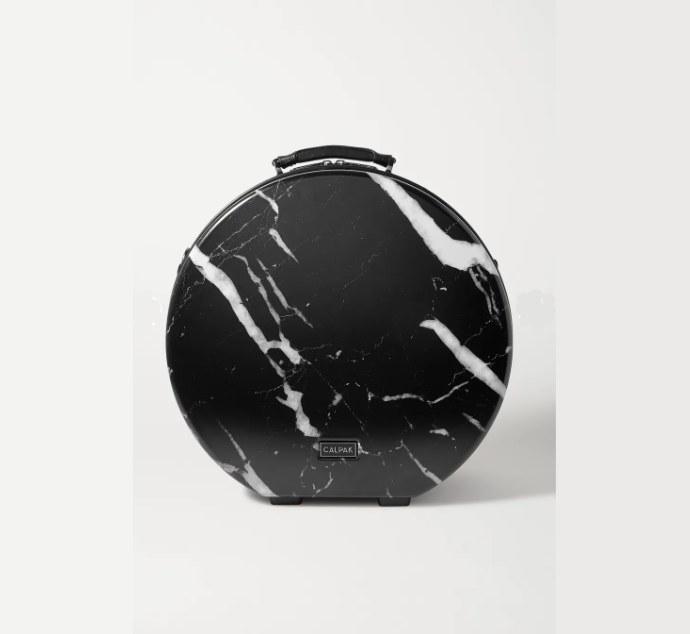 Travel bag με marble εφέ