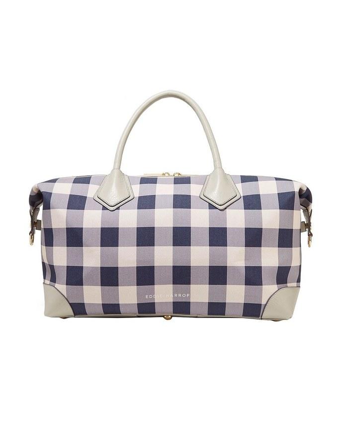 Τσάντα ταξιδιού με διακοσμητικό λογότυπο