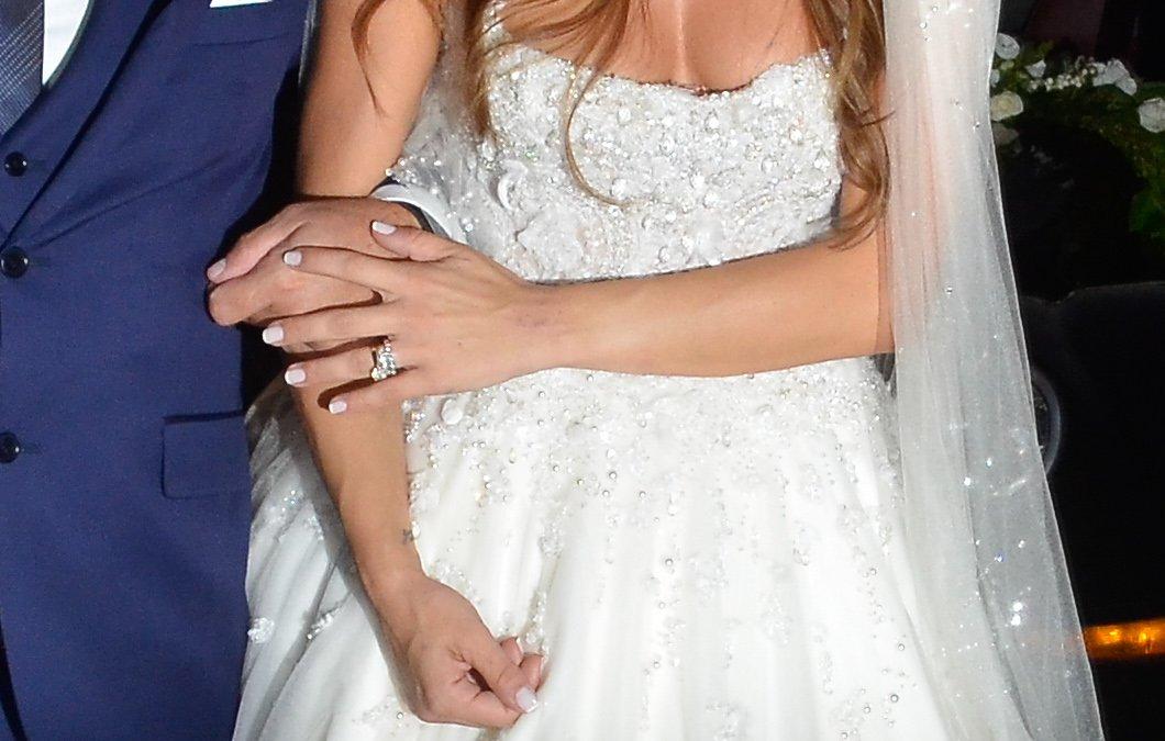 μανικιούρ νύφη Ελένη Τσολάκη