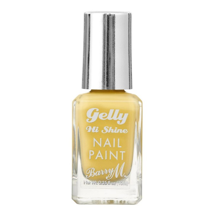 Barry M Gelly Hi-Shine Nail Polish - Lemon Sorbet
