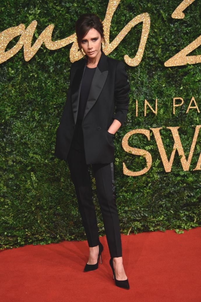 H Victoria Beckham στα British Fashion Awards το 2015