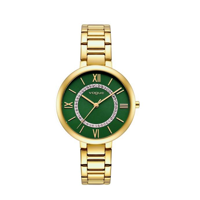 Mini Twist ρολόι πράσινο σμαραγδί καντράν