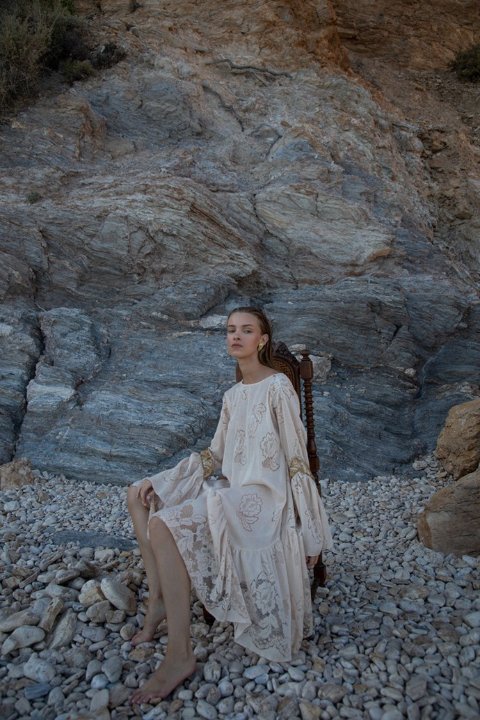 Crochet φόρεμα