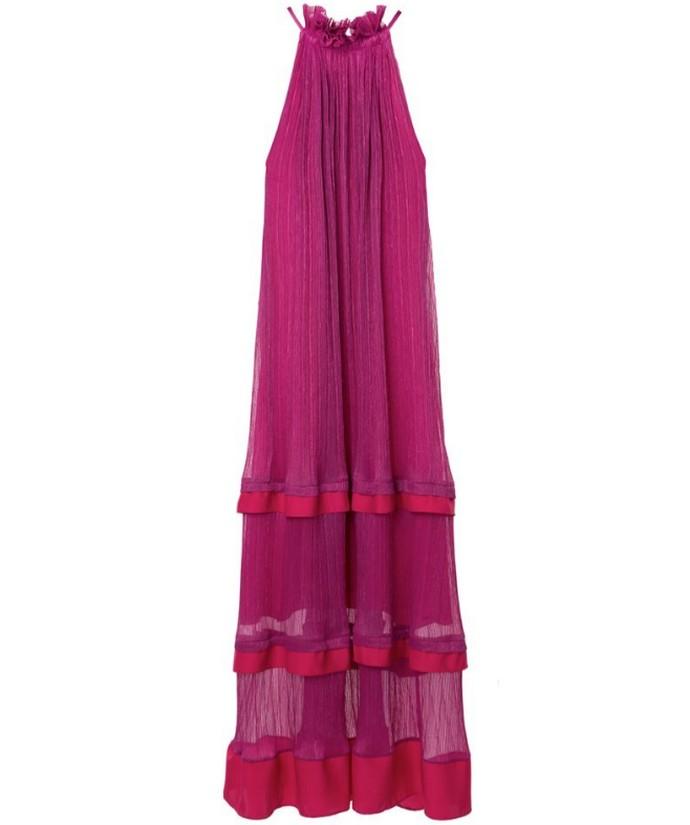 Halter neck φόρεμα