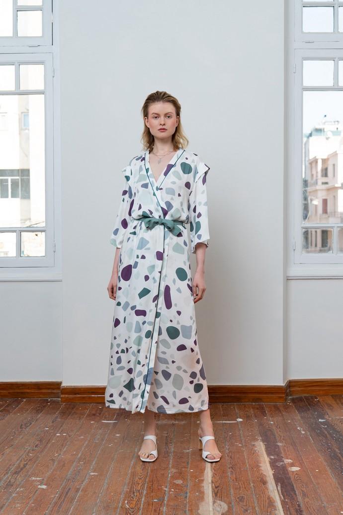 Kimono dress με prints
