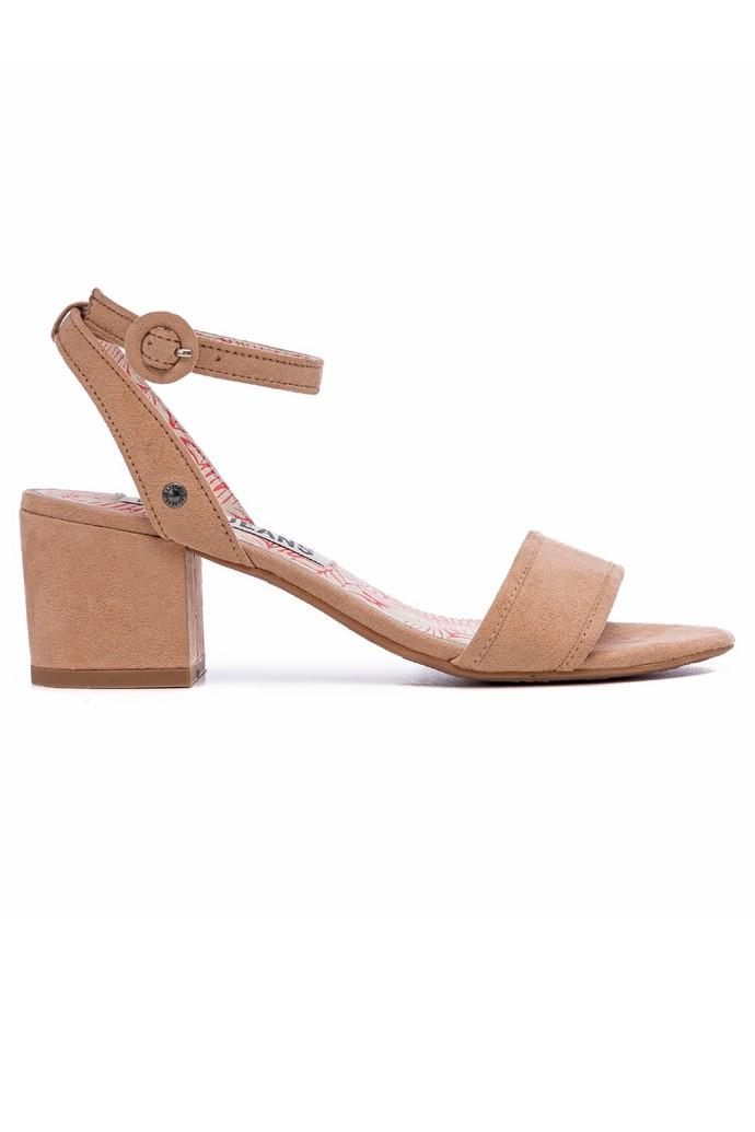 Πέδιλα με block heel τακούνι