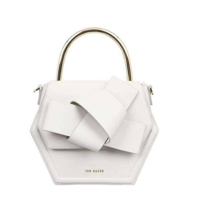 Τσάντα χειρός με πλέξη