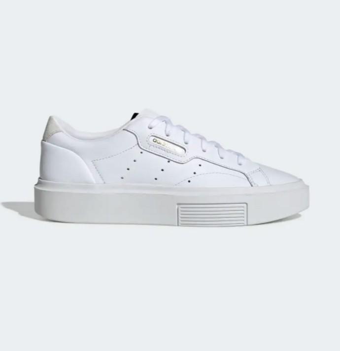 Λευκά δερμάτινα sneakers