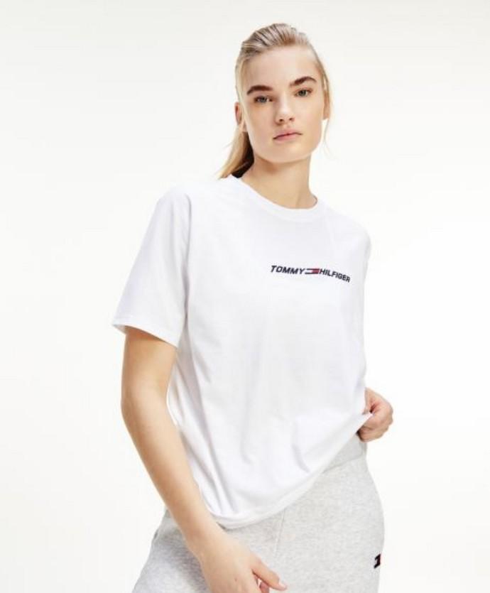 Φαρδύ t-shirt με logo