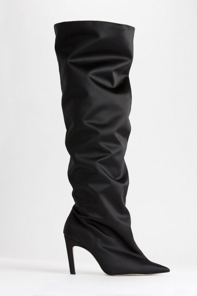 Slouchy μπότες με τακούνι
