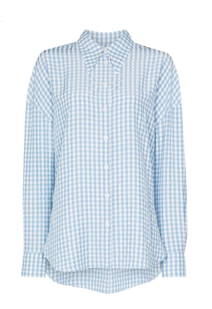 Gingham καρό πουκάμισο