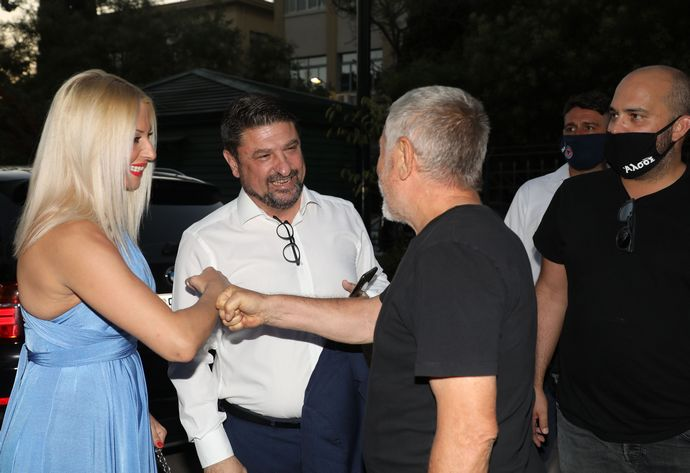 Νίκος Χαρδαλιάς Τάκης Ζαχαράτος