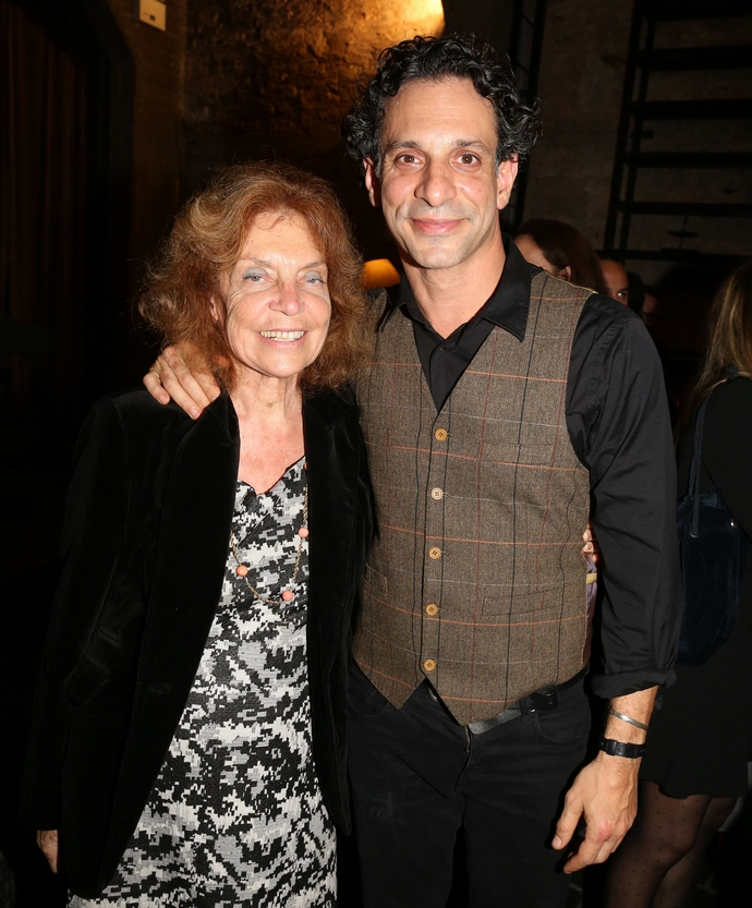 Γιώργος Χρανιώτης με τη μητέρα του