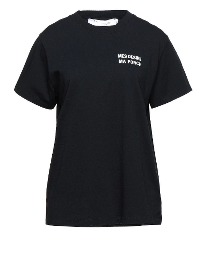 Oversized t-shirt με slogan