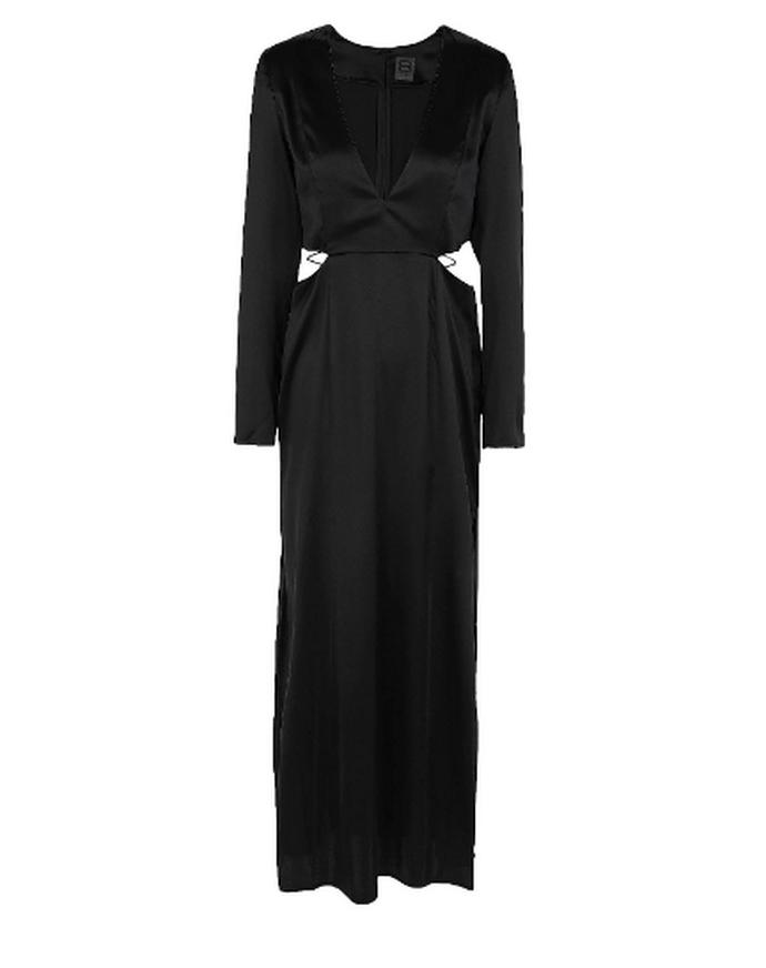 μακρύ φόρεμα με straps και cutouts