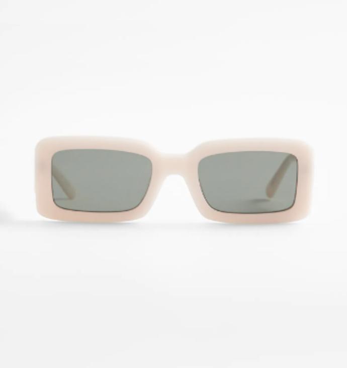 γυαλιά ηλίου με ορθογώνιο σκελετό
