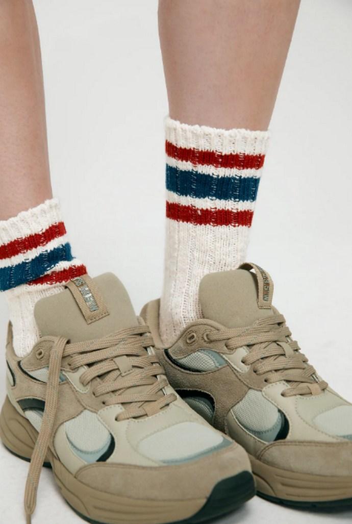 Κάλτες σε athleisure style με ρίγες