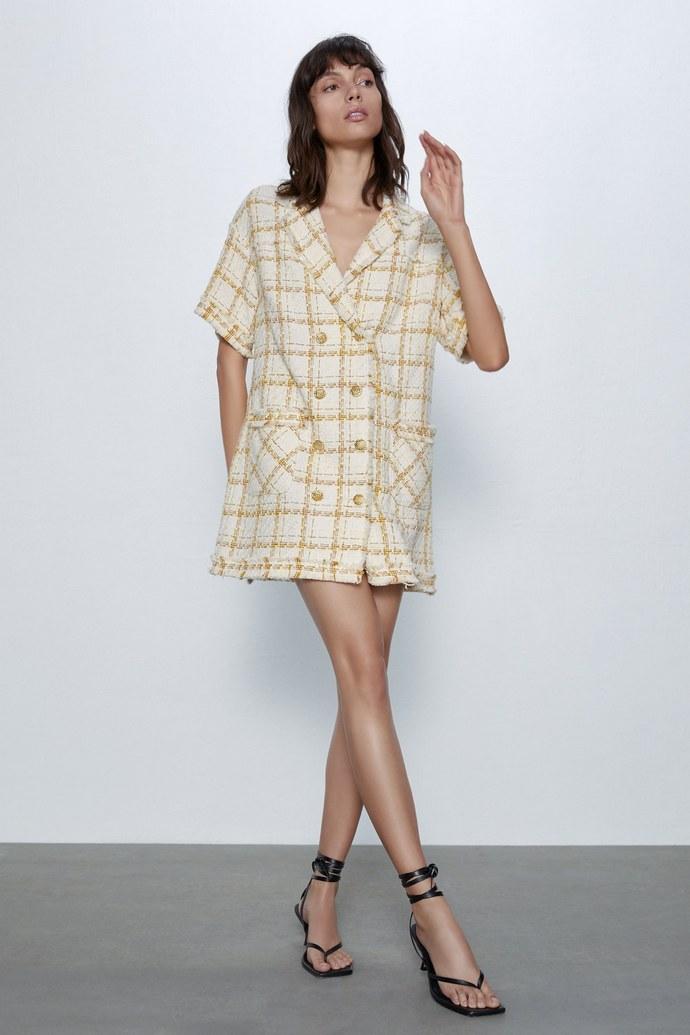 Φόρεμα τουίντ- Zara