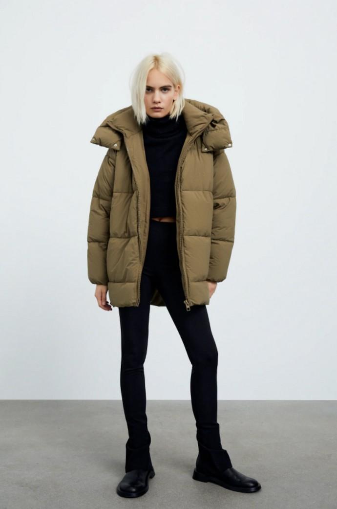 Αδιάβροχο puffer jacket