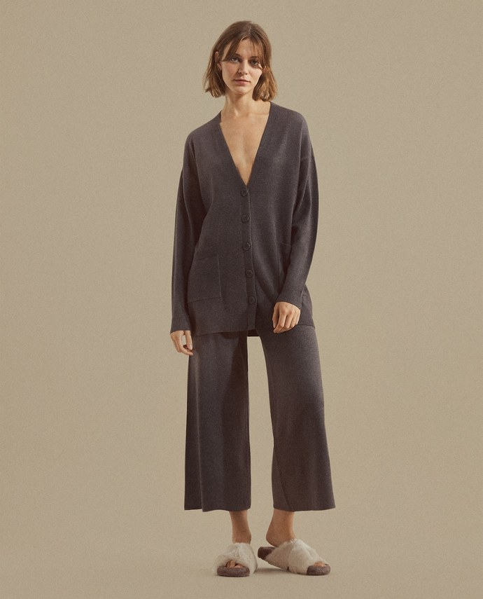 Πλεκτή ζακέτα και ίδιο παντελόνι Zara Home